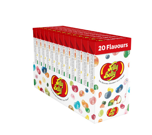 Jelly Belly 20 Assorted Flavours Box 100g
