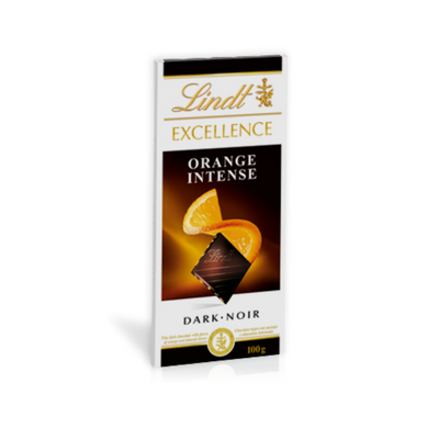 Lindt Excellence Orange Intense Dark 100g