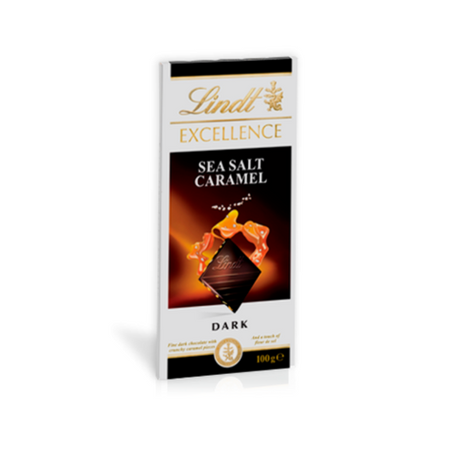 Lindt Excellence Sea Salt Caramel Dark 100g