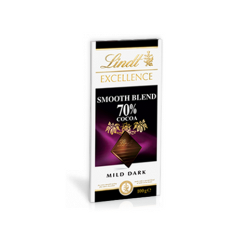 Lindt Excellence Smooth Blend 70% Mild Dark 100g