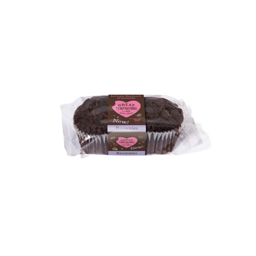 Great Temptations Brownies 2 pack
