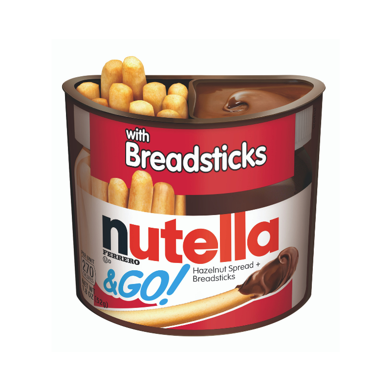 Nutella & Go With Breadsticks 48g