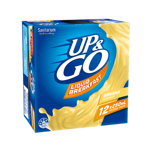 Up & Go Liquid Breakfast Banana 250ml