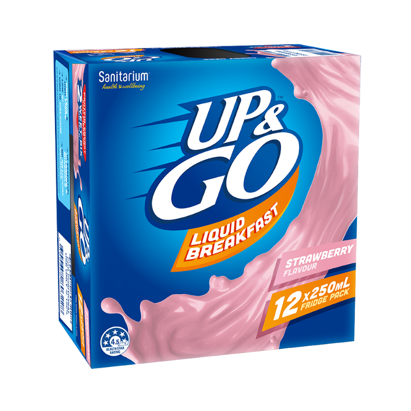Up & Go Liquid Breakfast Strawberry 250ml