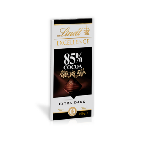 Lindt Excellence Extra Dark 85% 100g