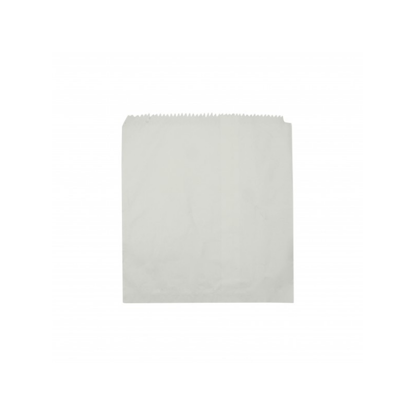 White Paper Bags- 185mm x 165mm- 500pcs