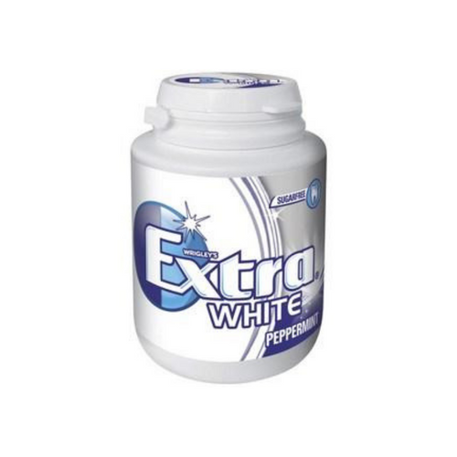 Extra White Peppermint Bottle 64g