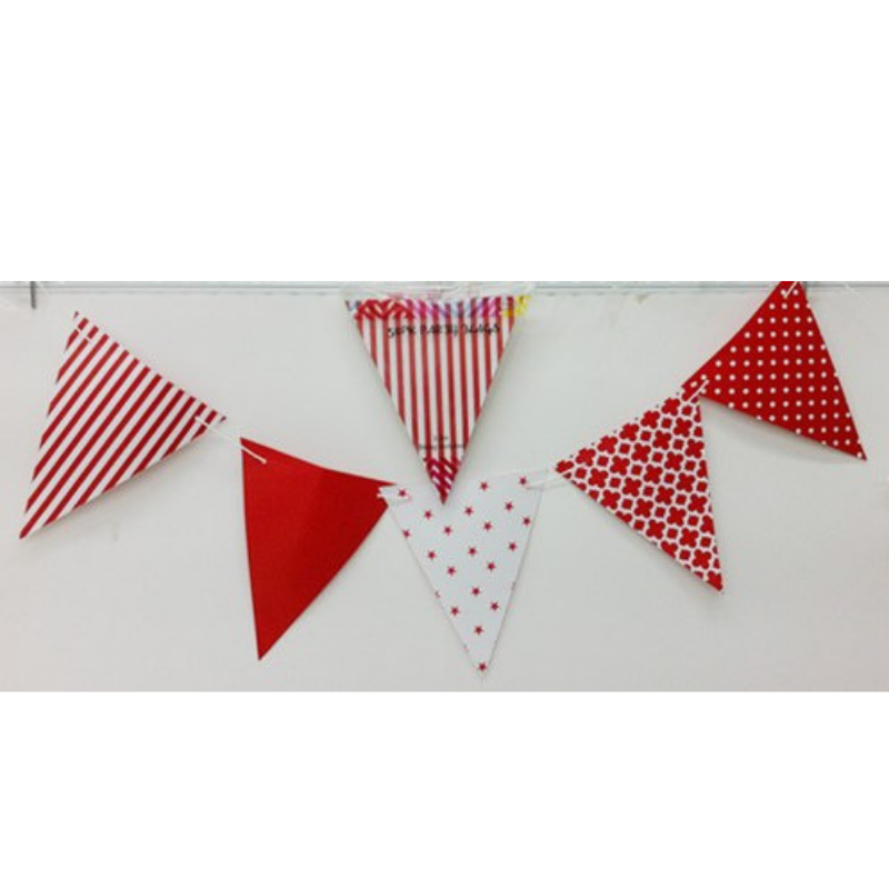 Party Flags Red 50pk