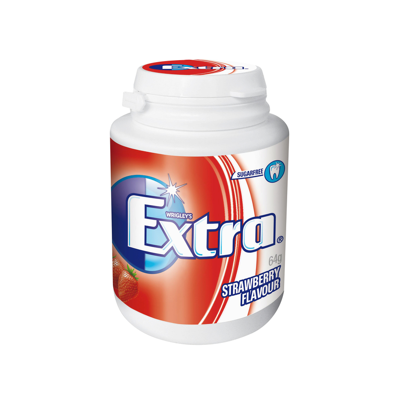 Extra Strawberry Bottle 64g