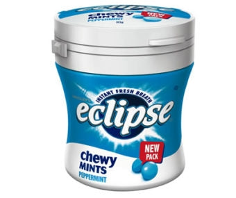 Eclipse Chewy Mints Peppermint Bottle 93g