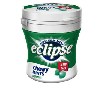 Eclipse Chewy Mints Spearmint Bottle 93g