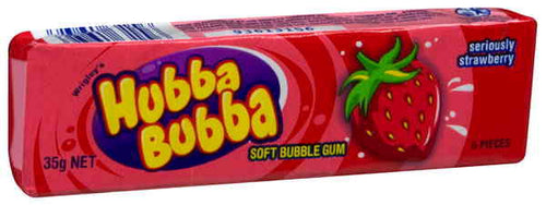 Hubba Bubba Strawberry 35g