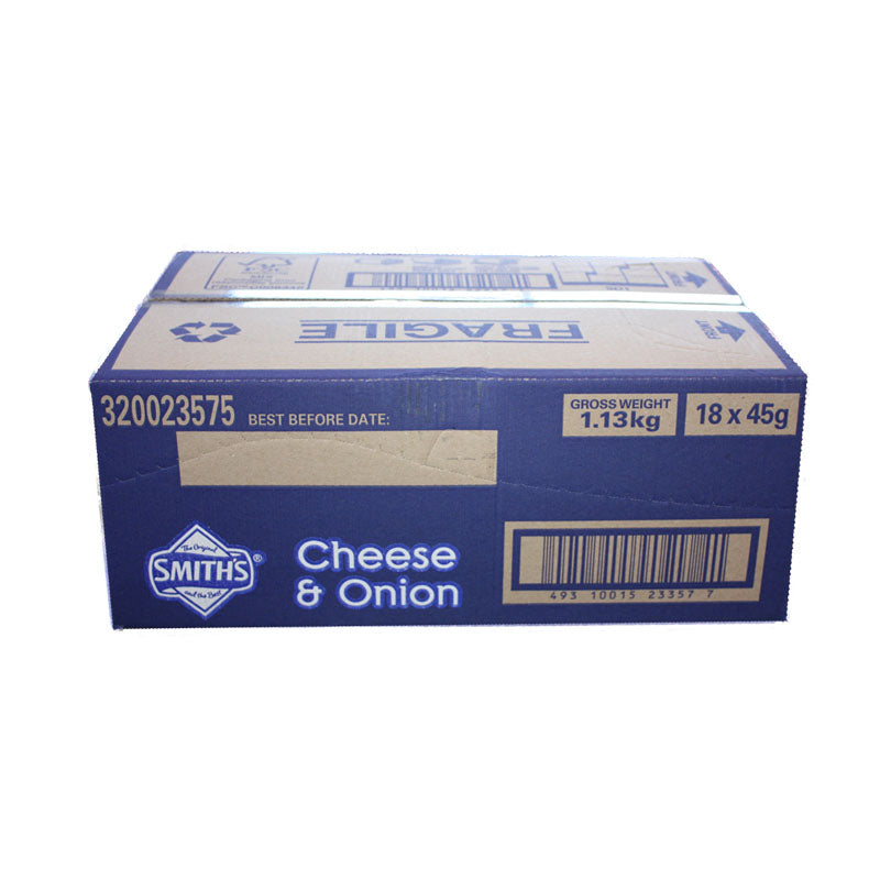 Smiths Crinkle Cut Cheese & Onion 45g
