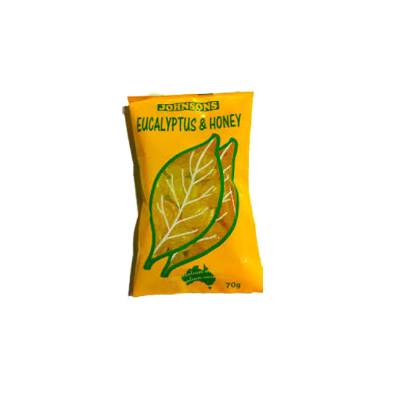 Johnsons Eucalyptus & Honey Bag 70g