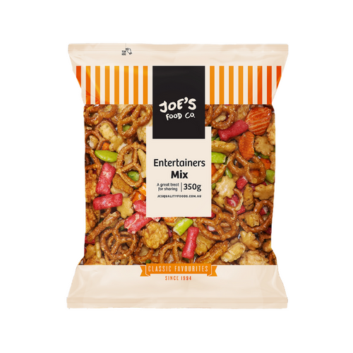 Joe's Food Co. Entertainers mix 350g