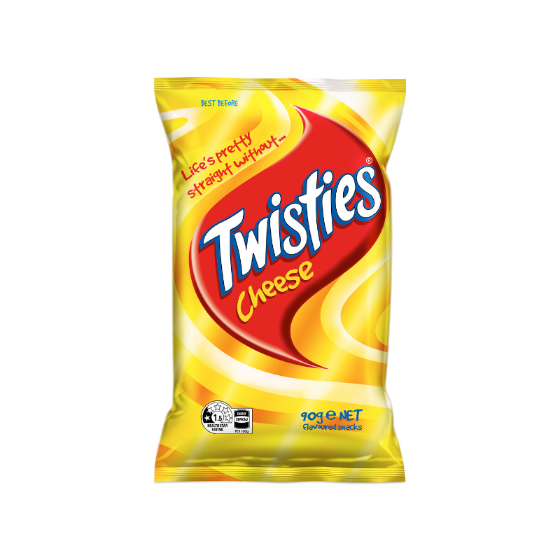 Twisties Cheese 90g