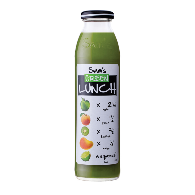 Sam's Juice - Green Lunch 375ml x 12