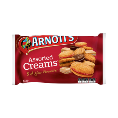 Arnott's Assorted Creams 500g
