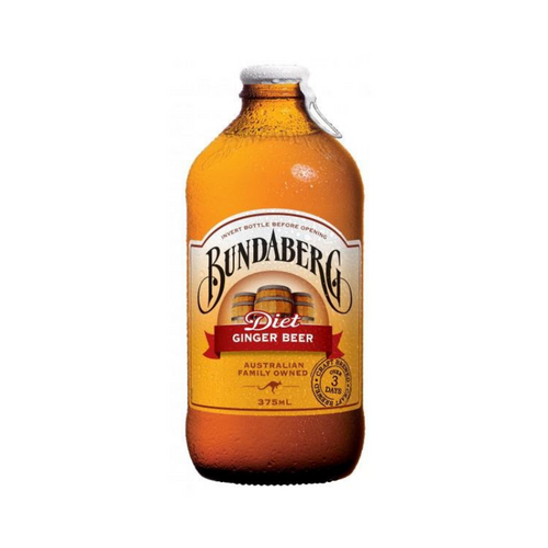 Bundaberg Diet Ginger Beer 375ml x 12