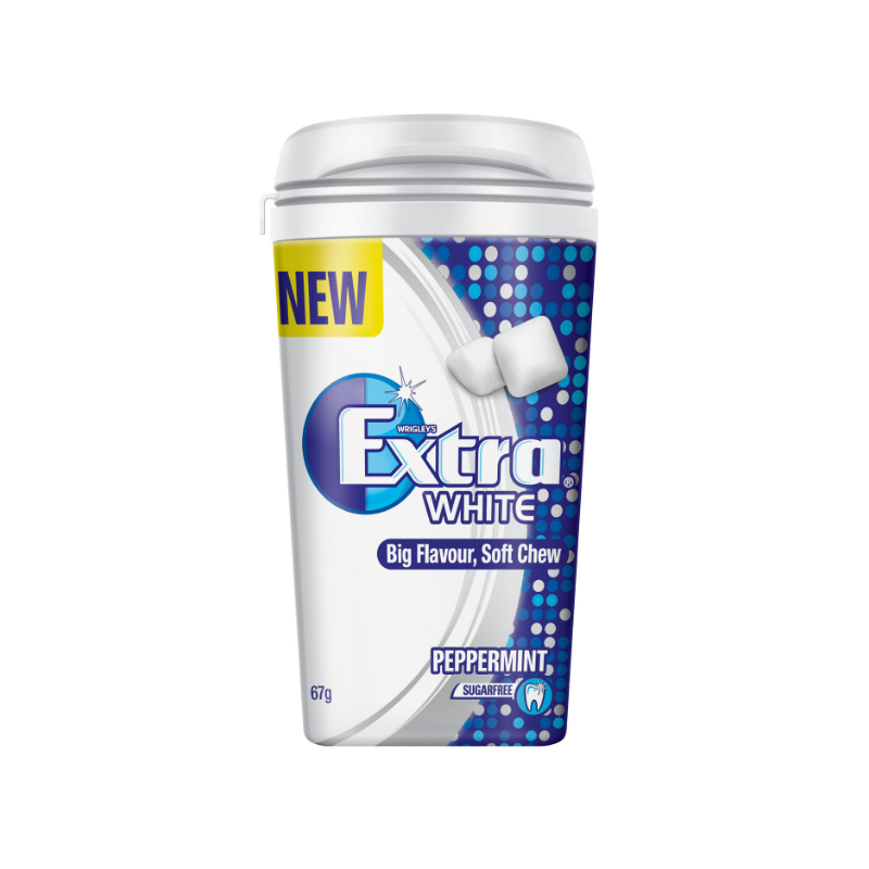 Extra White-Peppermint-67g