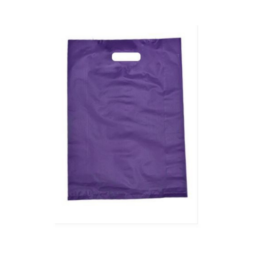 Plastic Bags Purple 100pcs