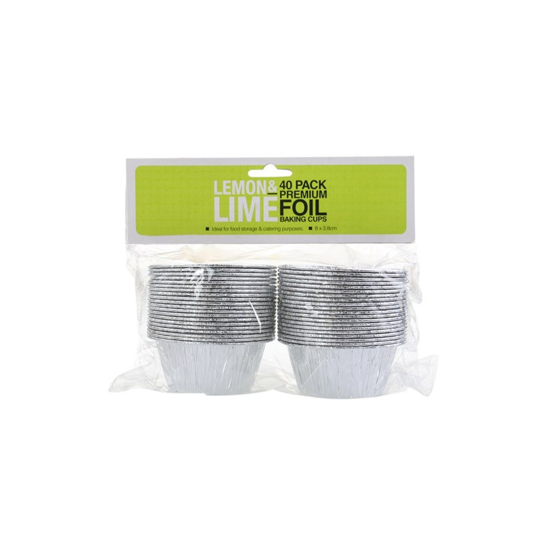 Foil Baking Cups 40pk (Pick Up Instore Only)