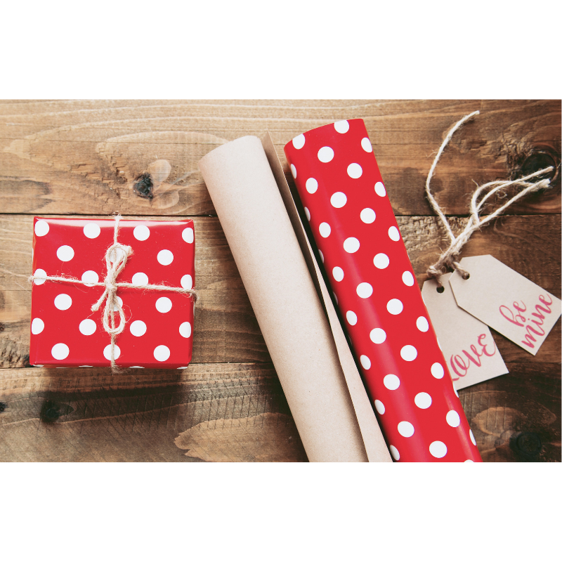 Free Valentine's Day Gift Wrapping