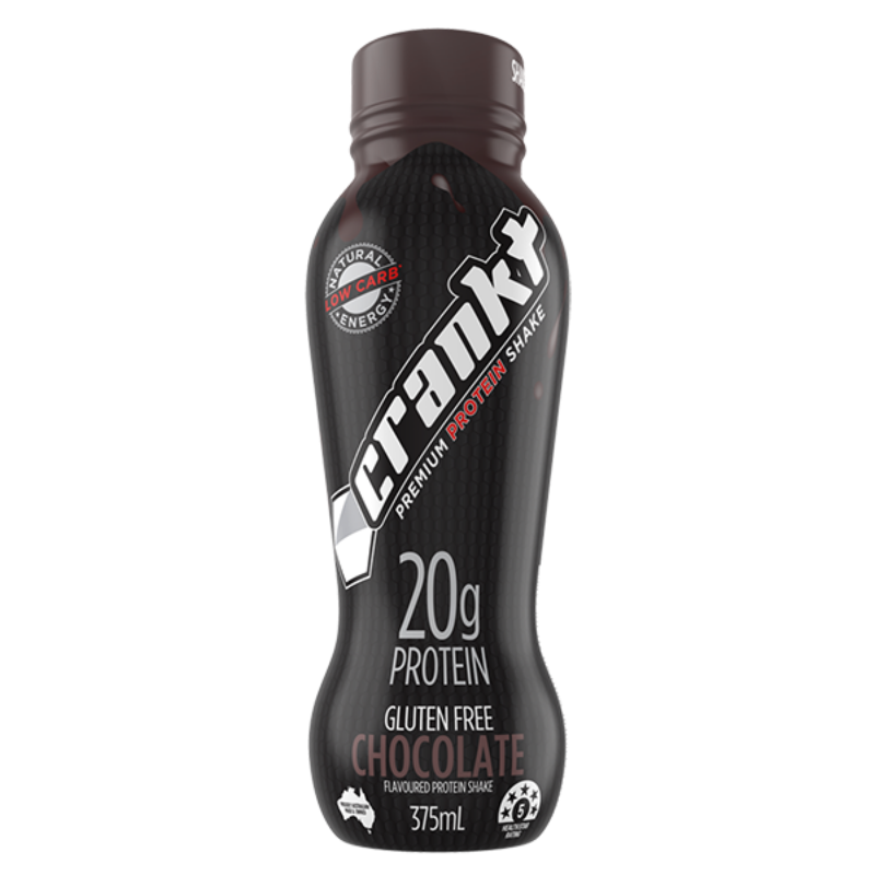 Crankt Protein Shake Chocolate 375ml