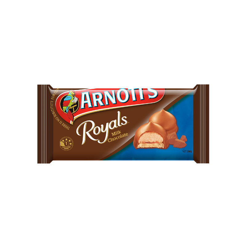 Arnott's Royals Milk Chocolate 200g