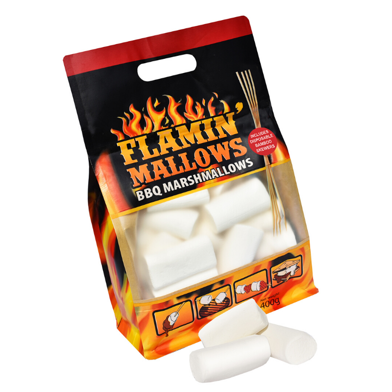 Flamin Mallows BBQ Marshmallows 400g