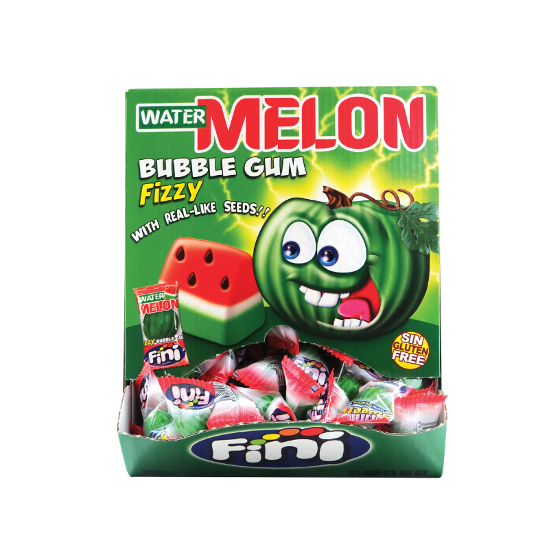 Fini Watermelon Bubble Gum 5g x 200pcs