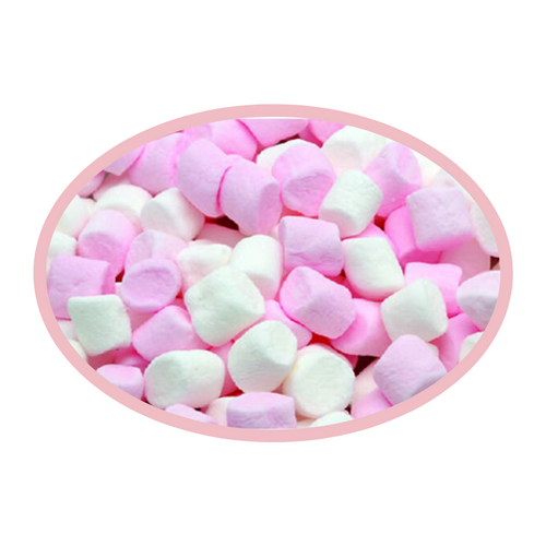 Mini Pink & White Mallows