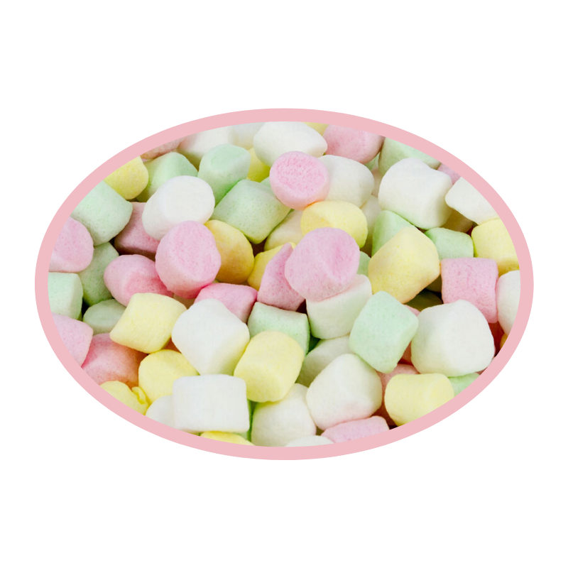 Mini Coloured Mallows