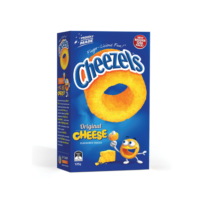 Cheezels Cheese 125g