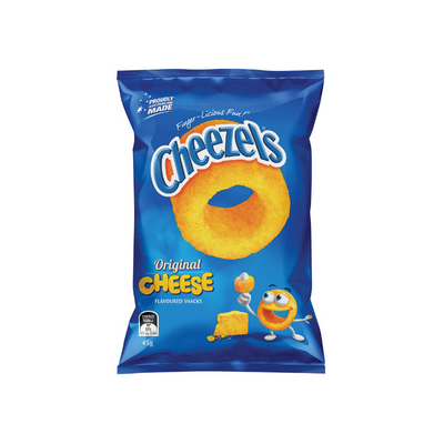 Cheezels Cheese 45g