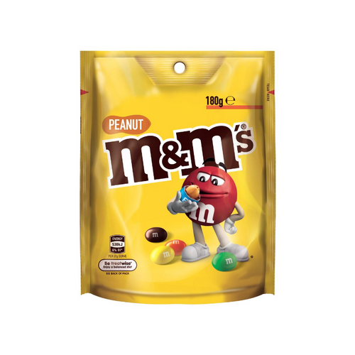 M&M's Pouches Peanut 180g