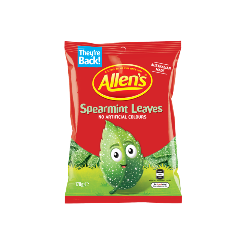 Allen's Spearmint Leaves 170g