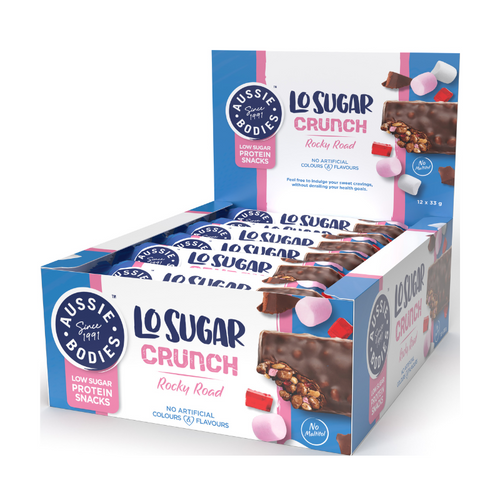 Aussie Bodies Lo Carb Crunchy Honey Almond 40g