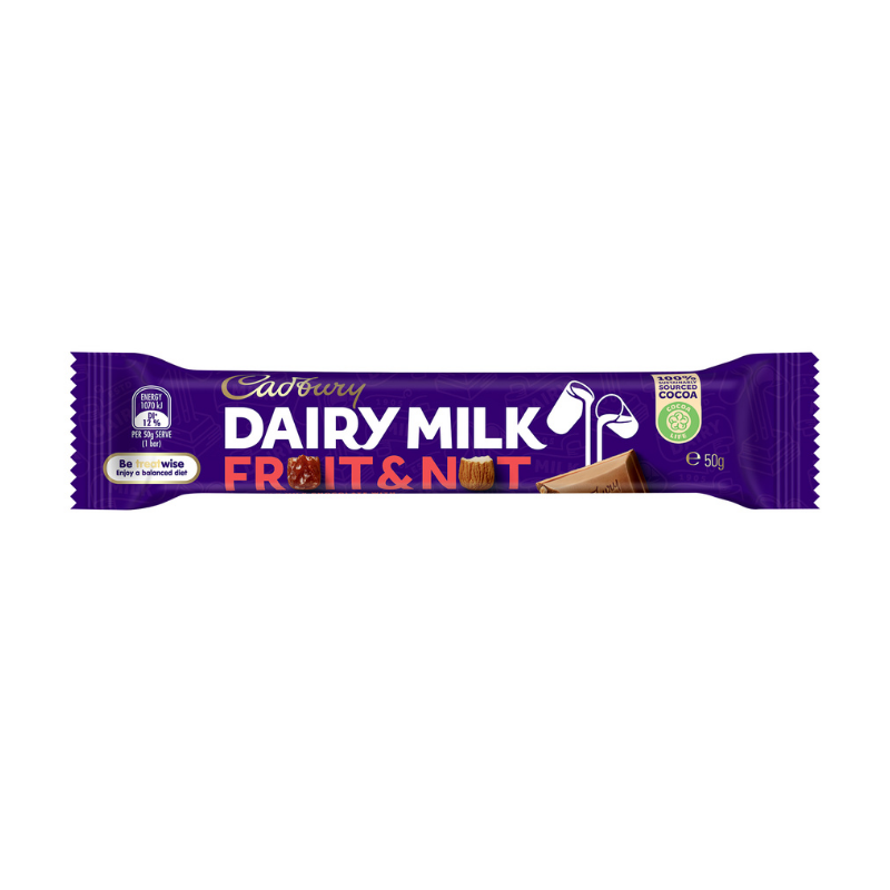 Cadbury Fruit & Nut 50g