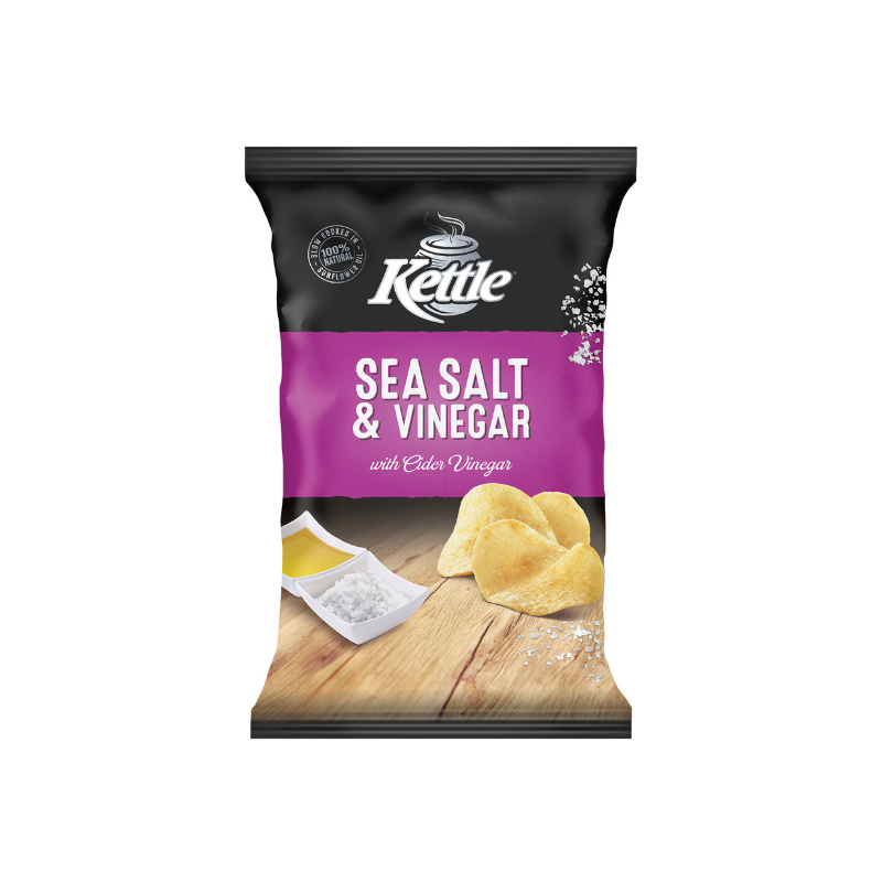 Kettle Sea Salt & Vinegar 175g