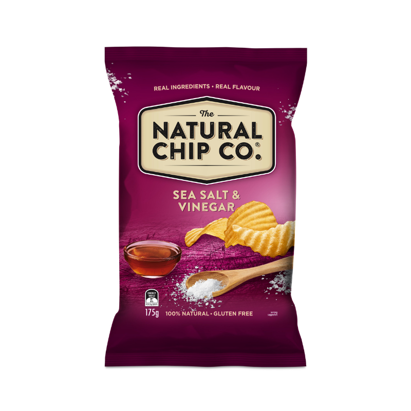 Natural Chip Co Sea Salt & Vinegar 175g