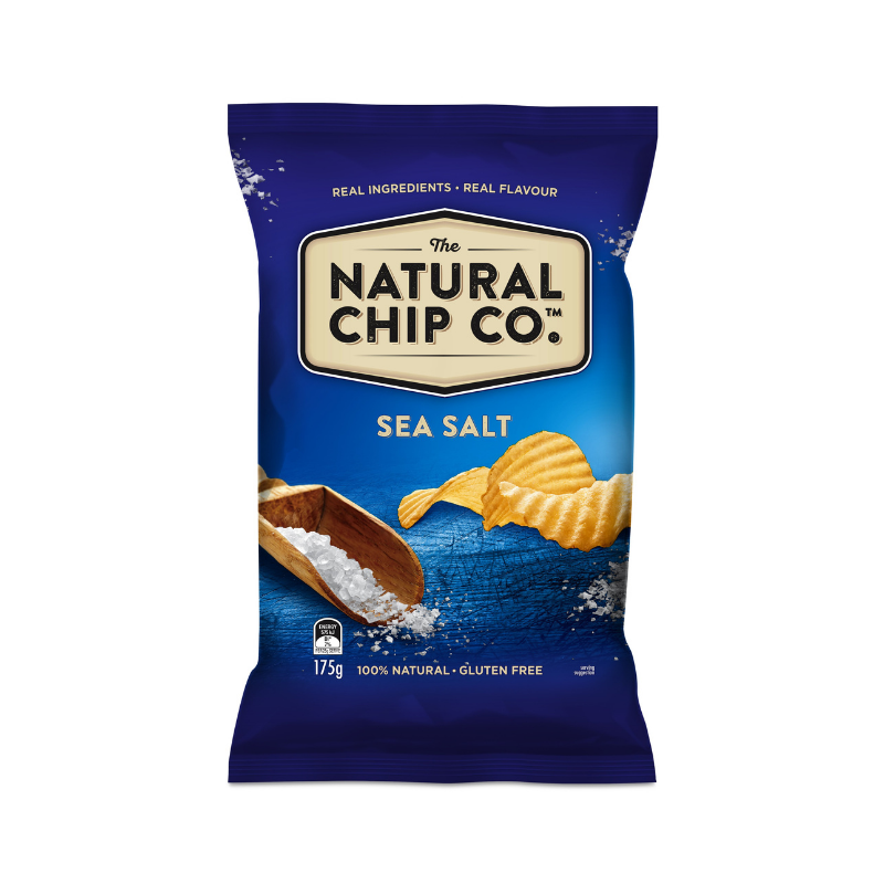 Natural Chip Co Sea Salt 175g