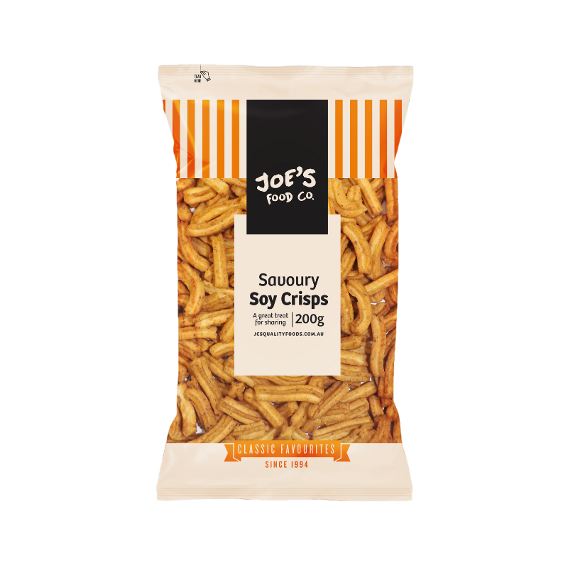 Joe's Food Co. Savoury Soy Crisps 200g