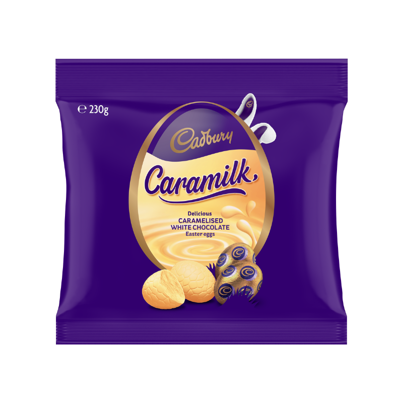 Cadbury Caramilk Easter Eggs 230g