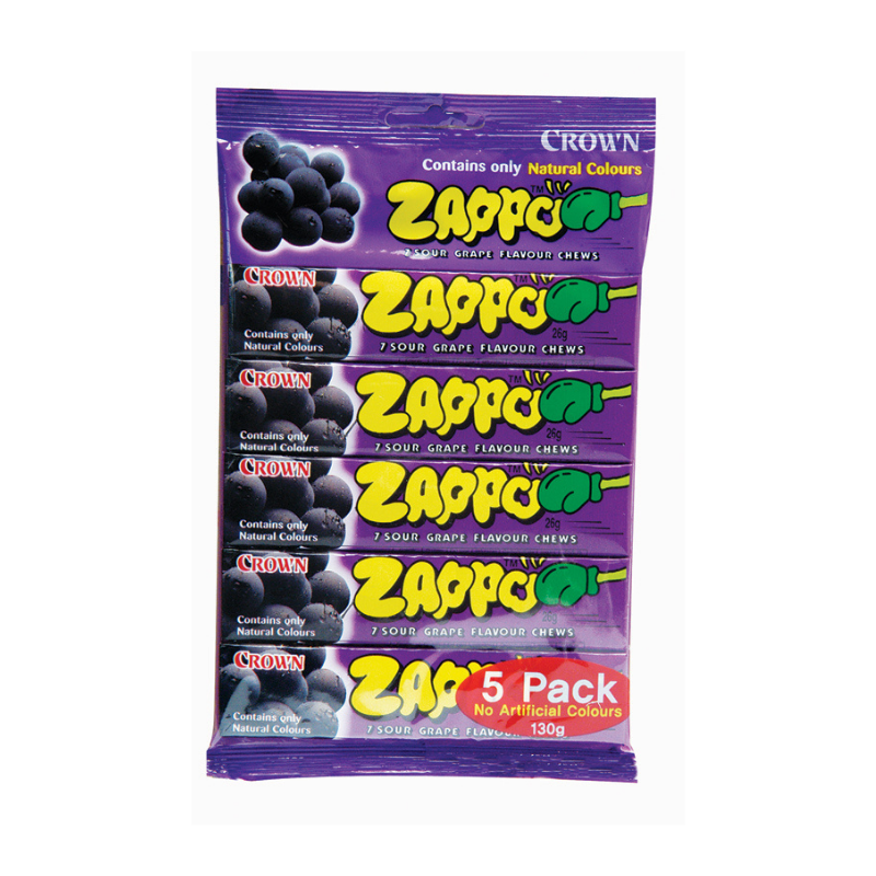 Zappo Multi 5 Pack Grape