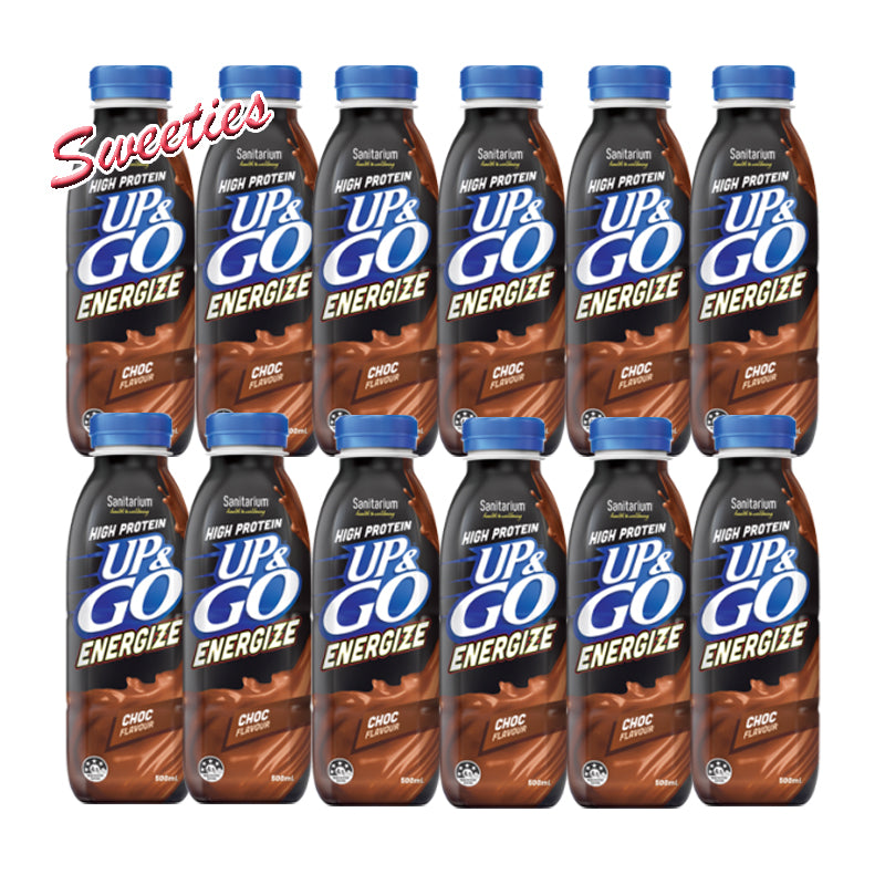 Up & Go Energize Chocolate 500ML