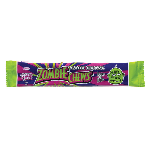 Zombie Chew Sour Grape 28g