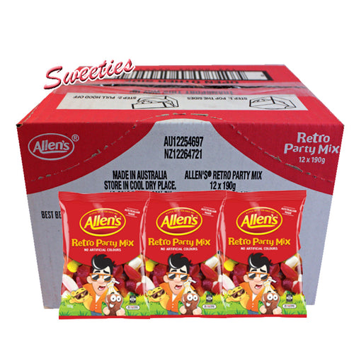 Allen's Retro Party Mix 190g