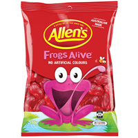 Allens Frogs Alive 190g