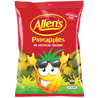 Allens Pineapples 170g